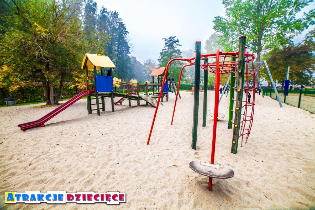 Plac zabaw w Tychach - Paprocany