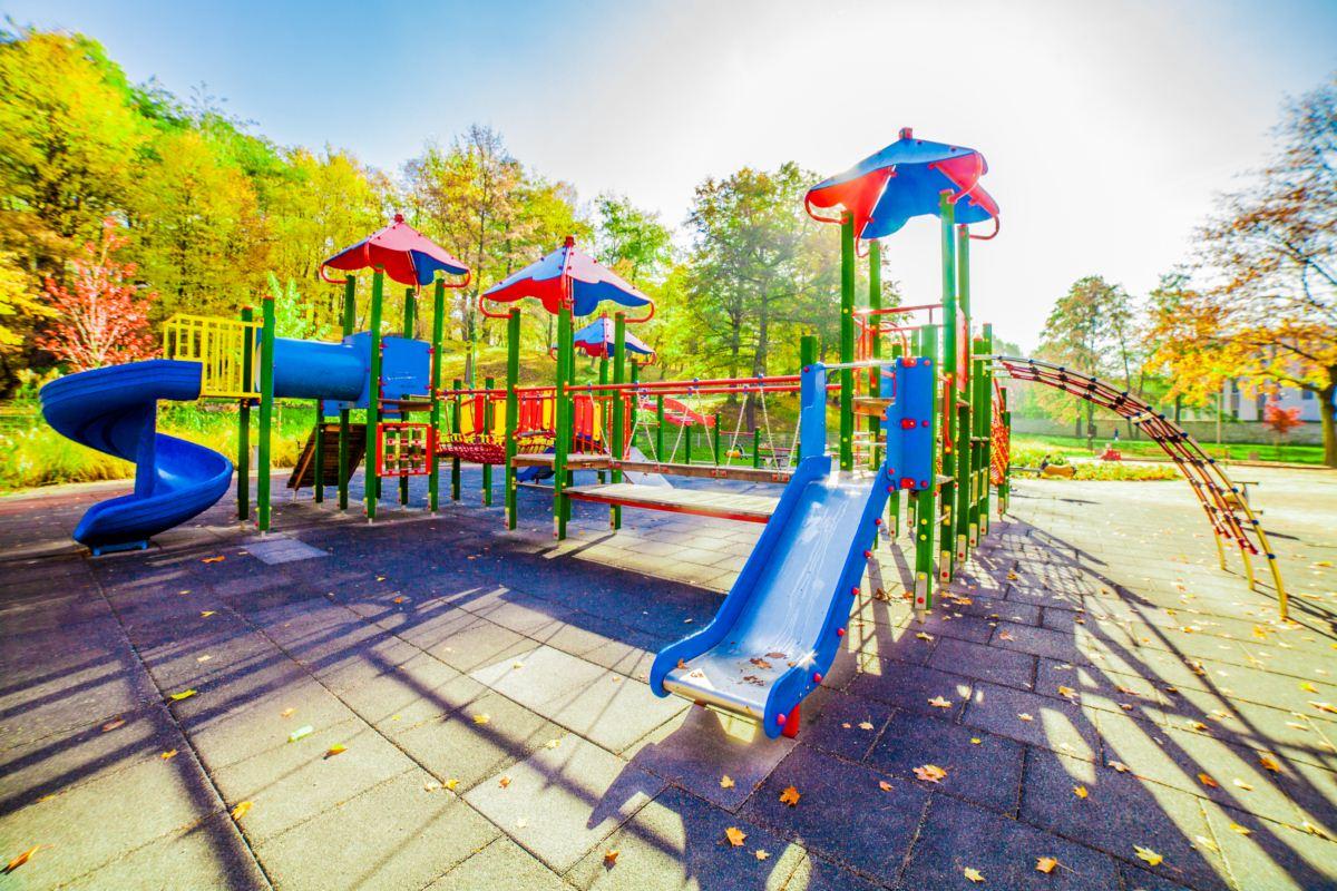 Plac zabaw park Sielec Sosnowiec