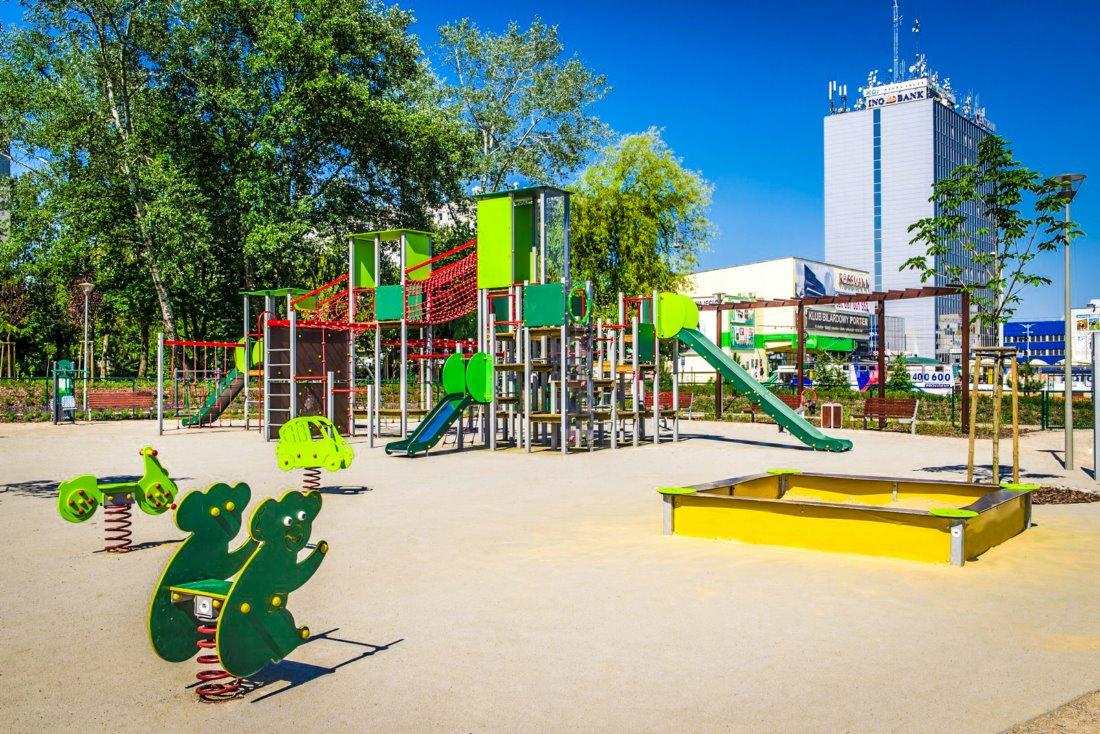 Plac zabaw Częstochowa Armii Krajowej